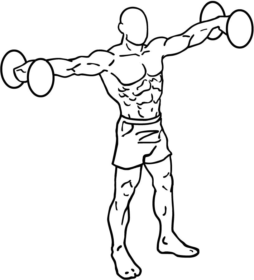 brede schouders trainen